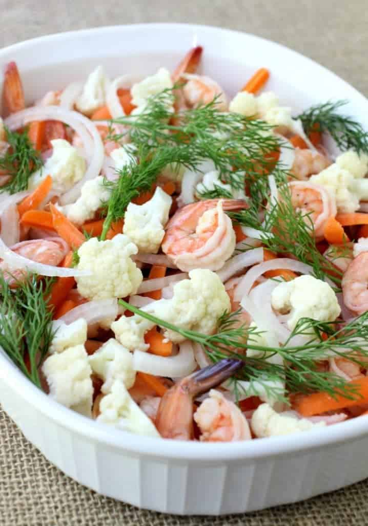 pickled-shrimp-vegetables-process