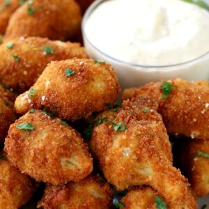 Make these Fried Artichokes with Garlic Aioli for appetizers at your next party!