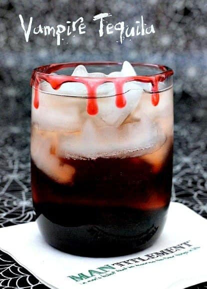 Vampire Tequila | Spooky Halloween Cocktail for Parties!