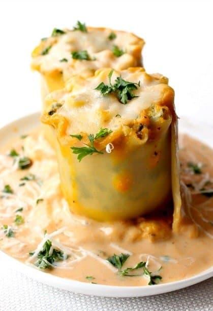 turkey lasagna rolls top small