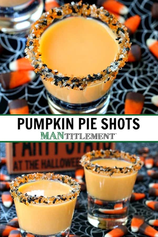 pumpkin pie shots collage for pinterest