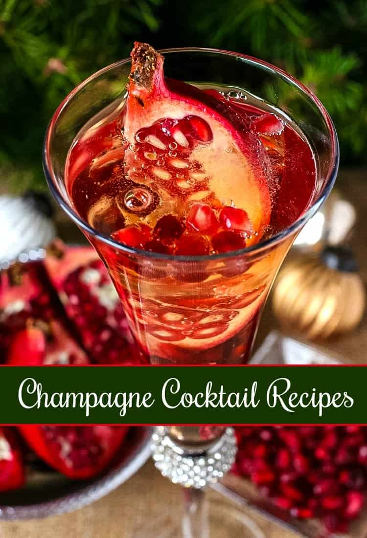 Champagne Cocktail Recipes is a collection of champagne drinks for the holidays
