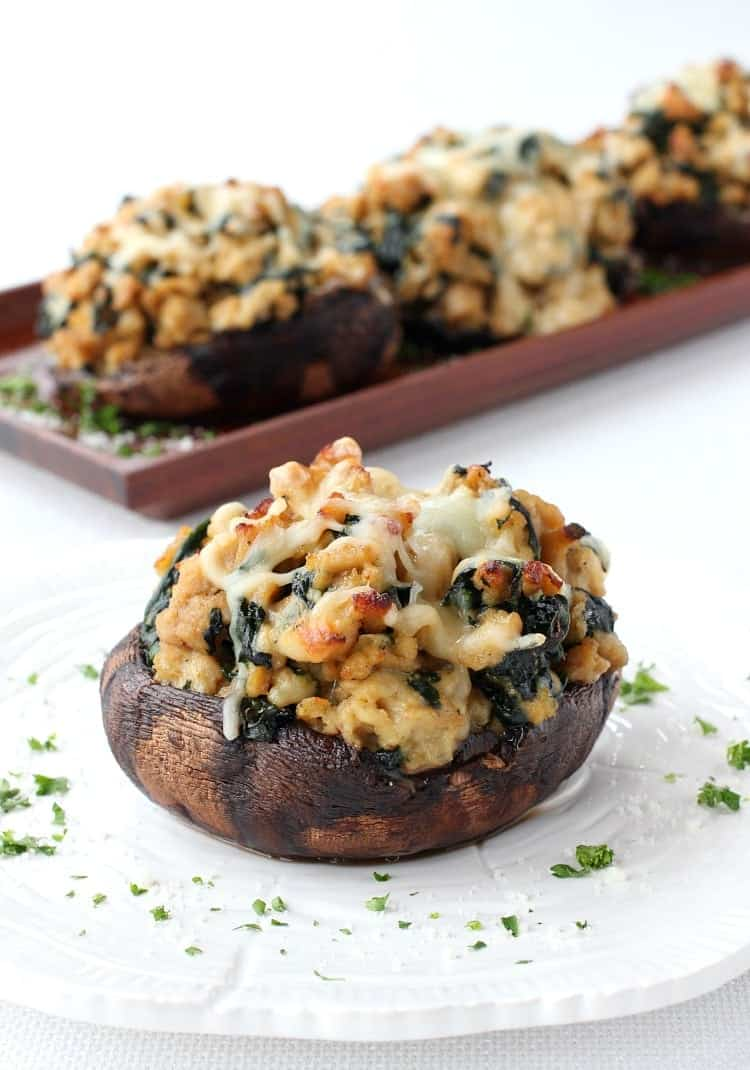 Chicken Marsala Portobello Mushrooms Mantitlement