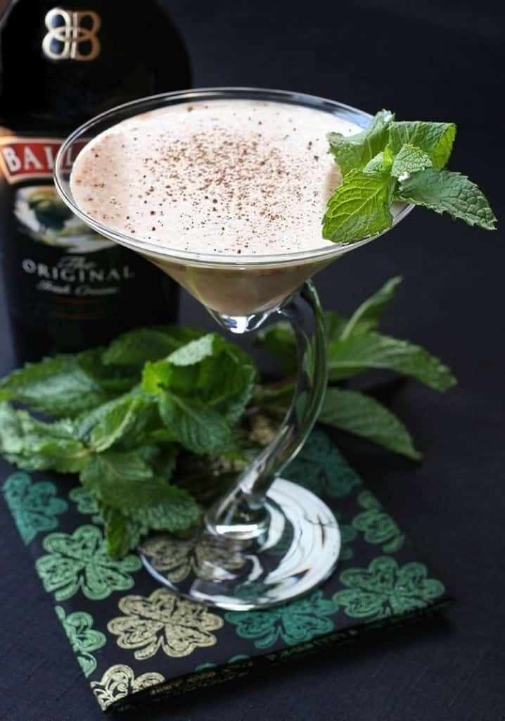 baileys martini is a martini recipe made with irish cream