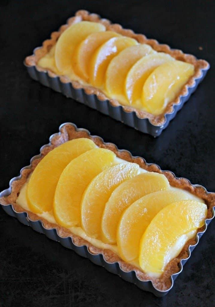 peach-custard-tart-pan