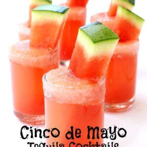 cinco de mayo tequila cocktails - hero image