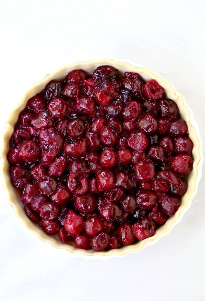 This Bourbon Cherry Pie will be the star dessert at your parties!