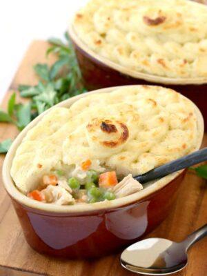 Leftover Shepherd's Pie is a turkey leftover recipe