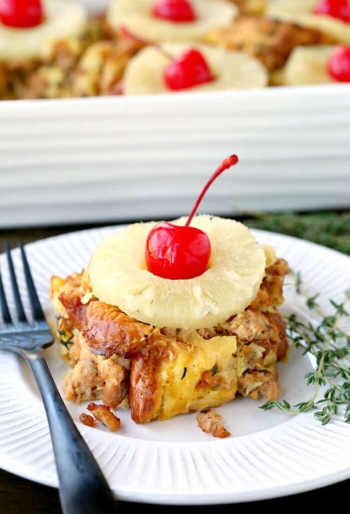 Easy Pineapple Sausage Stuffing Recipe