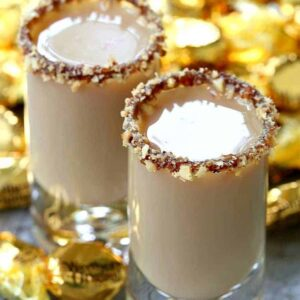 Chocolate Toffee Crunch Shots are a shot recipe that is sweet and chocolate flavored