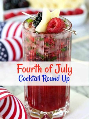 Fourth of July Cocktail Round Up