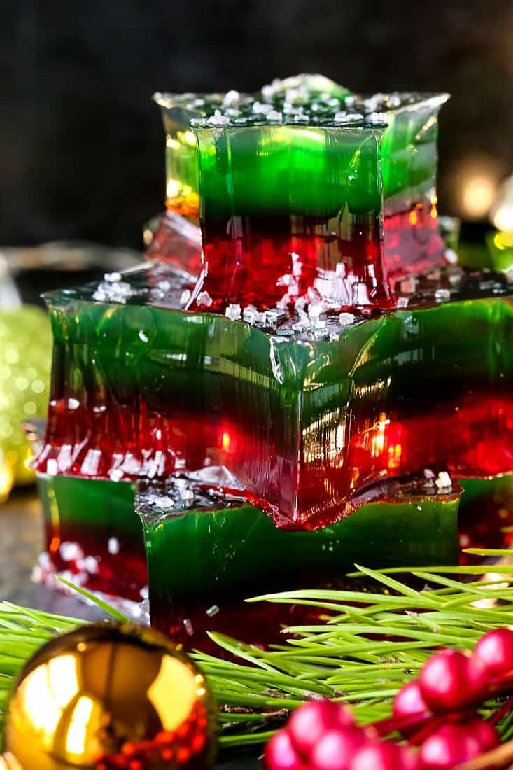 Champagne Jello Shots are a jello shot recipe with alcohol
