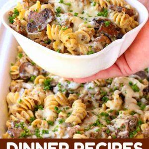 Dinner Recipes For the Week is a weekly dinner menu planner