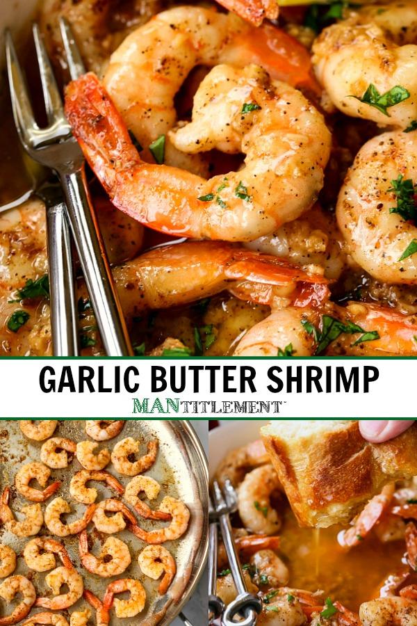 garlic butter shrimp recipe for pinterest